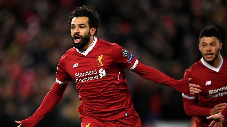 Liverpool sweating over Salah strain