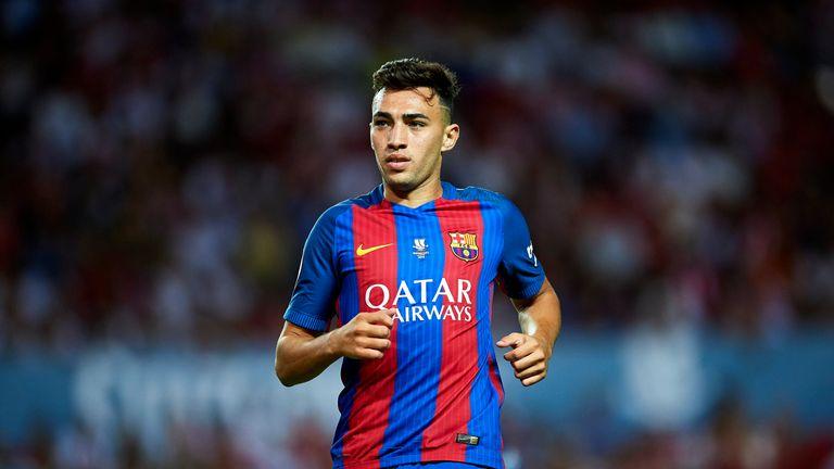 Munir El Haddadi is on loan at Alaves from Barcelona