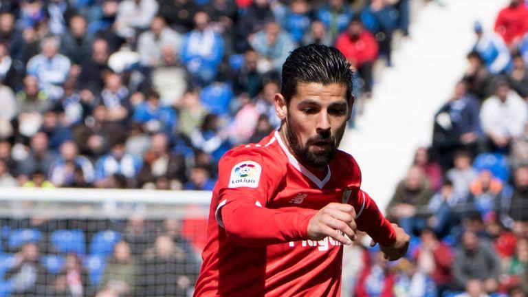 Nolito scored for Sevilla