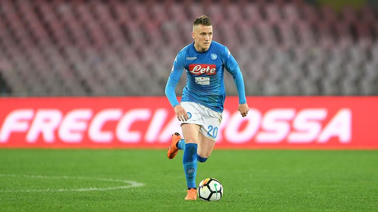Poland's Piotr Zielinski has become an important player for Napoli