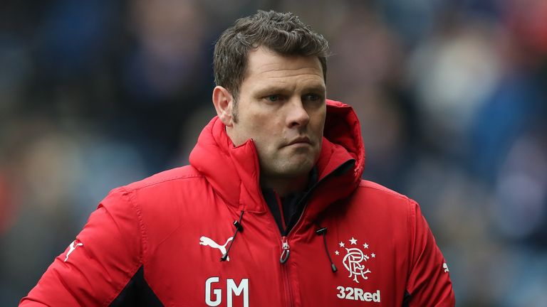 Graeme Murty was named Rangers manager until the end of the season following the departure of Pedro Caixinha