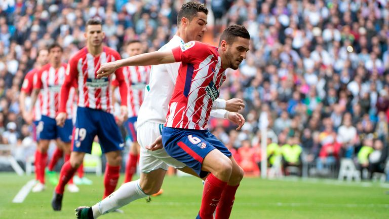 Koke's strike was enough to earn Atletico Madrid the points against Getafe