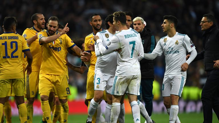 Cristiano Ronaldo scored the last-minute penalty which sent Real Madrid through on Wednesday night
