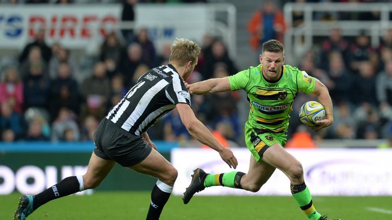 Rob Horne was injured in the first 10 seconds against Leicester