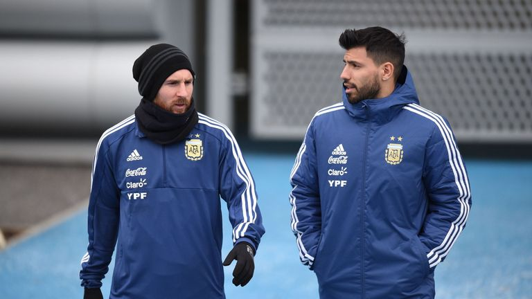 Lionel Messi and Sergio Aguero will play together for Argentina in Russia
