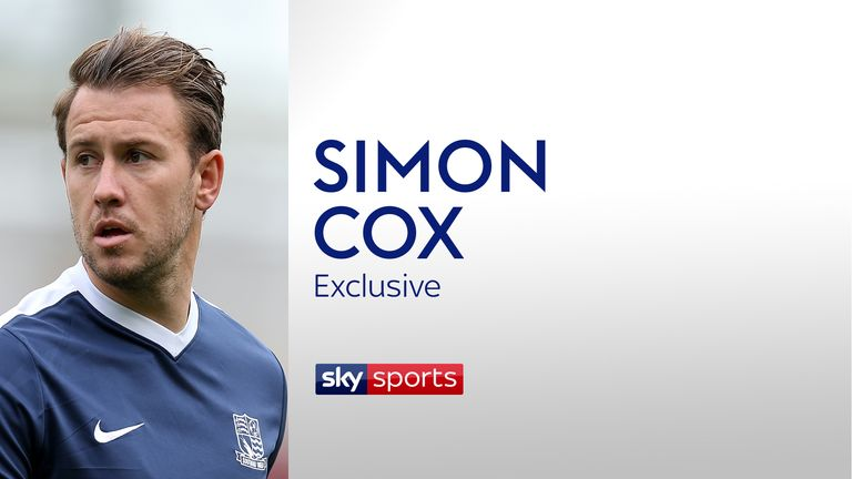 Southend United forward Simon Cox opens up about personal issues