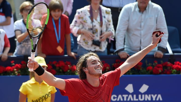 Nadal downs Tsitsipas for 11th Barcelona title
