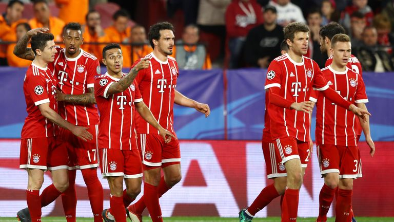 Bayern Munich will face Real Madrid in the semi-finals