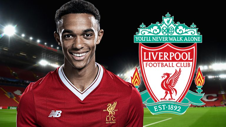 Trent Alexander-Arnold has been rewarded for a remarkable season for Liverpool