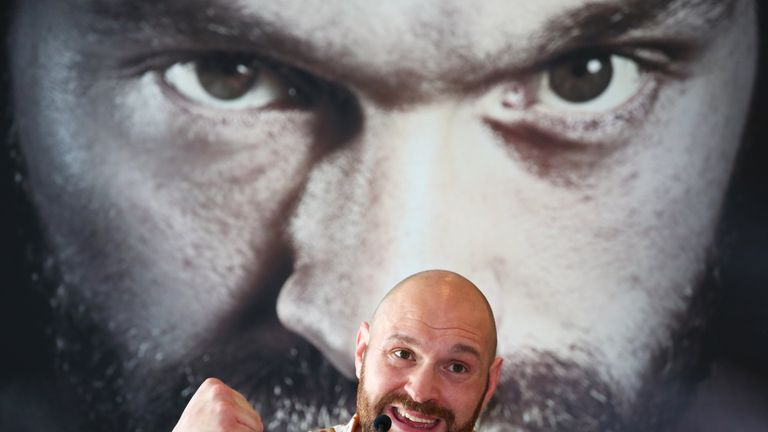 Tyson Fury eyes up clashes with Anthony Joshua AND Deontay Wilder
