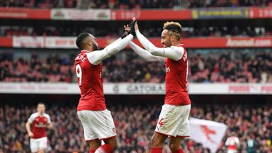 fifa live scores - Alexandre Lacazette does not view Arsenal team-mate Pierre-Emerick Aubameyang as a rival