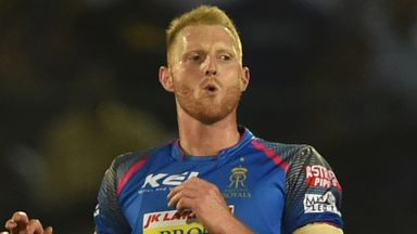 Ben Stokes has threatened to fire for Rajasthan but a big score still eludes him (Credit: AFP)