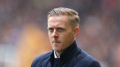 Birmingham City manager Garry Monk during the Sky Bet Championship match against Wolverhampton Wanderers at Molineux on April 15, 2018