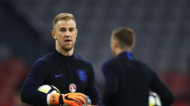 fifa live scores - Joe Hart should be England's World Cup goakeeper, says David Seaman