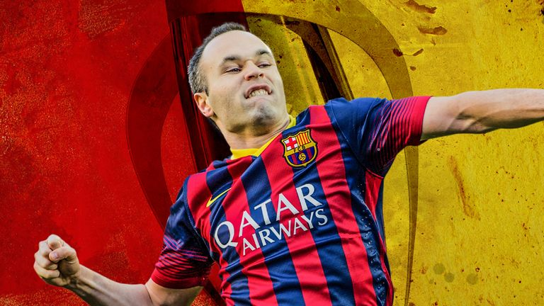 Andres Iniesta will depart for China at the end of the season