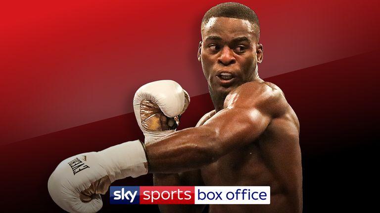 Joshua Buatsi on Sky Sports Box Office