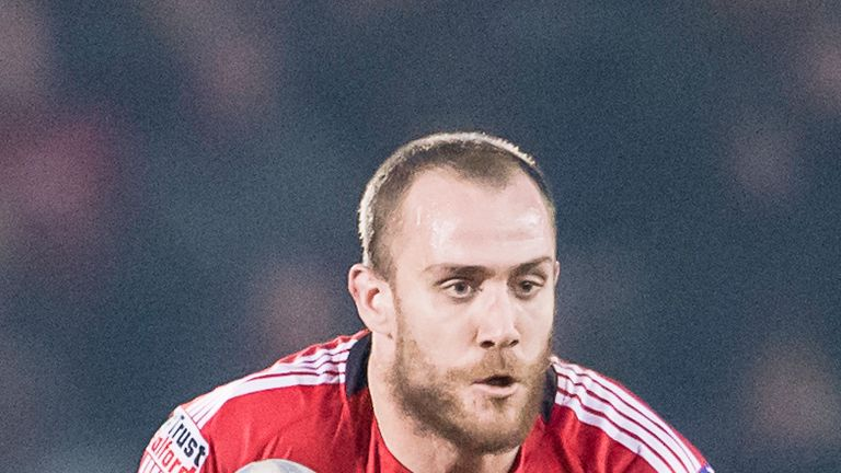 Lee Mossop of Salford Red Devils