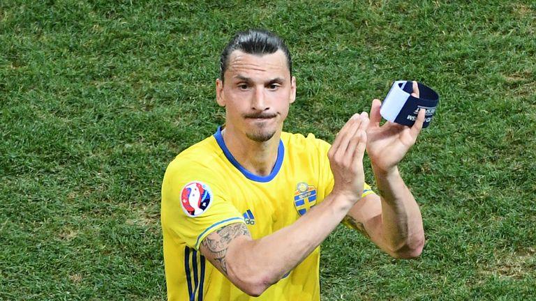Zlatan Ibrahimovic abslovierte sein letztes Länderspiel für Schweden bei der EM 2016.