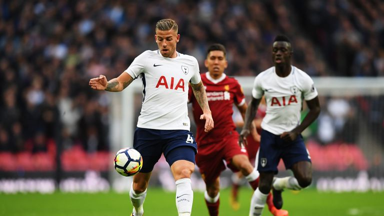 Belgian defender Toby Alderweireld could be set to depart Tottenham