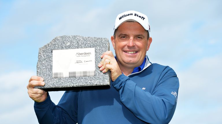 Wall won his second European Tour title in 2016, 16 years after his first