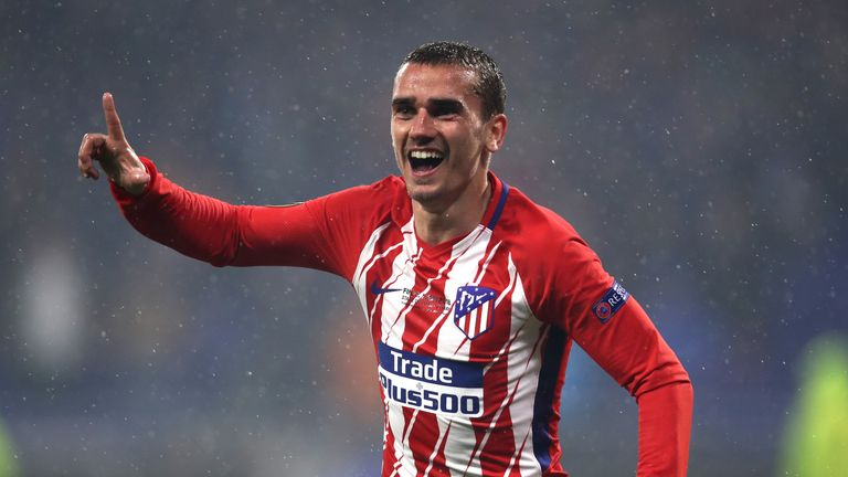 Griezmann is reportedly a Barcelona transfer target this summer
