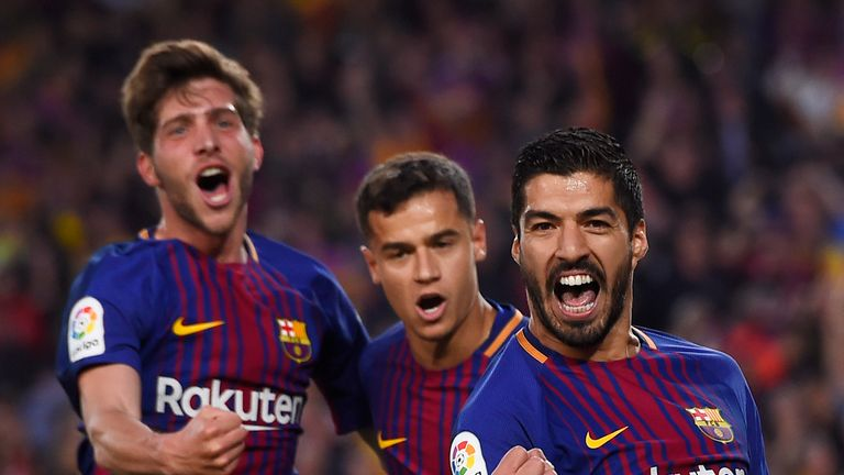 Barcelona maintained their unbeaten record in La Liga