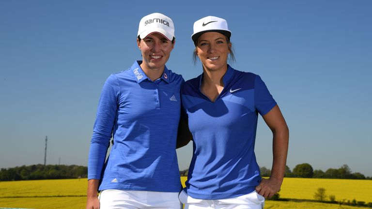 Carlota Ciganda and Mel Reid ousted defending champions Denmark