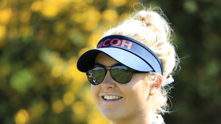 Charley Hull is a fan of nine-hole golf