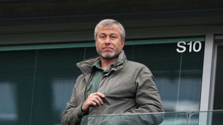 Roman Abramovich rejects Chelsea bid by Britain's richest man Jim Ratcliffe