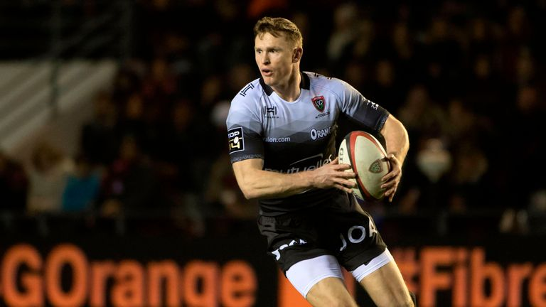 Chris Ashton scored a record 24 tries in his debut season in the Top 14
