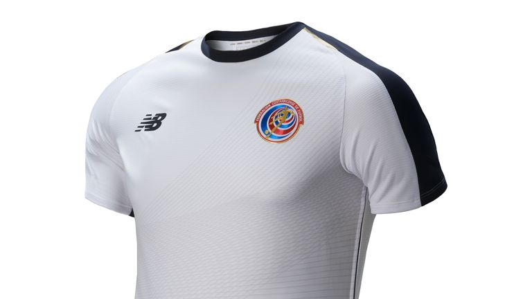 The new collection - including white away strip - was released under the slogan 'Declare your DNA'