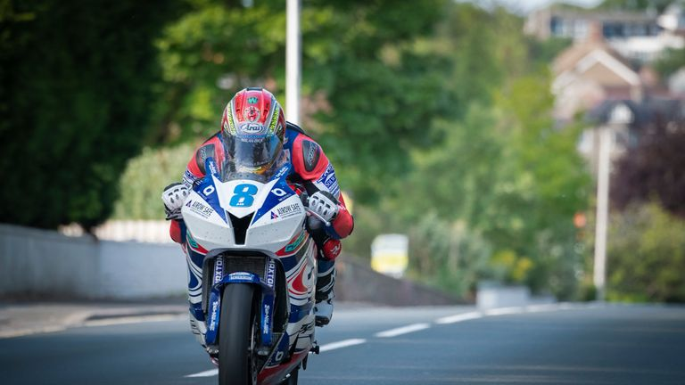 Kneen was riding for the Northern Ireland based Tyco BMW team (credit: Steve Babb)