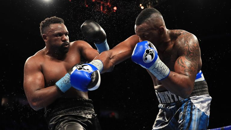 Whyte and Chisora went toe-to-toe in an epic battle in 2016