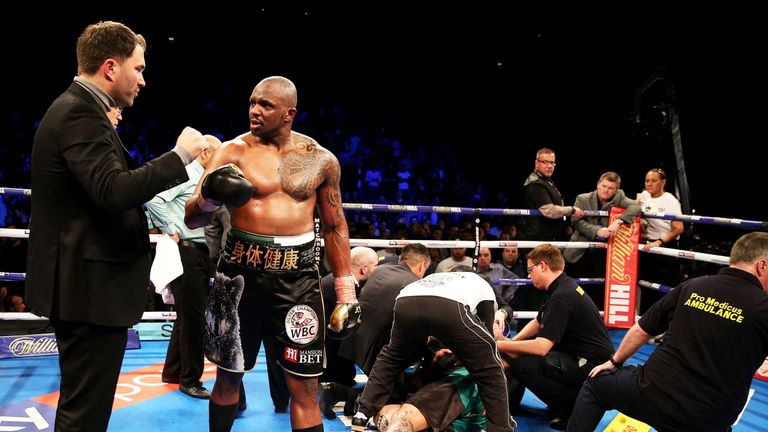 Dillian Whyte has been working towards a world title fight