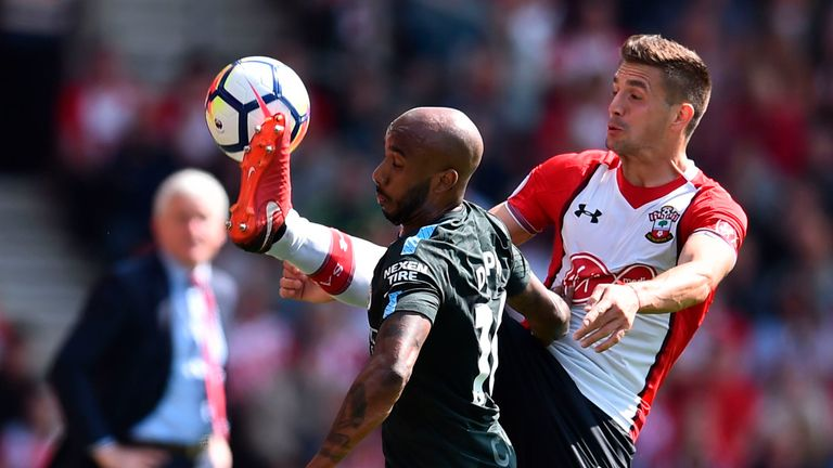 Southampton narrowly avoided relegation last year