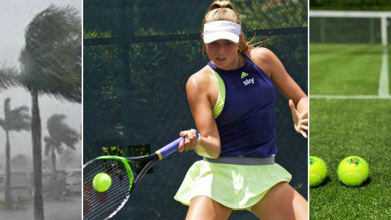 Emily Appleton in search of grass court action after a challenging stay in Florida