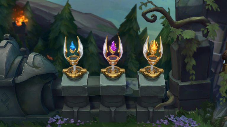 Demacia Trophies (Pic credit: Riot games)
