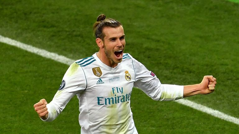 Gareth Bale's future at Real Madrid is thought to be uncertain