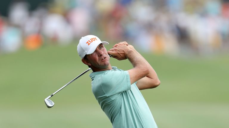 Lucas Glover missed the cut after a third round 78 at the Players Championship
