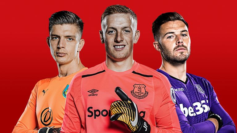 Jordan Pickford is odds-on to be England No 1