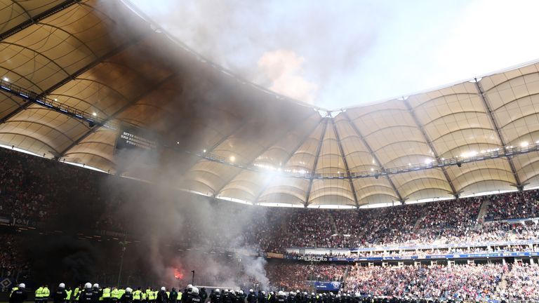 Hamburg have suffered their first relegation in the history of the club