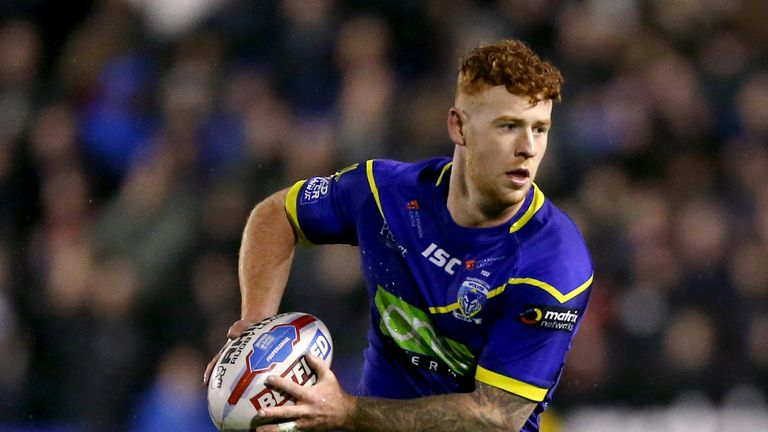 Harvey Livett's try seemed set to put Warrington on course for victory
