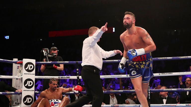 Will this be the last time we see Bellew celebrating in the ring?