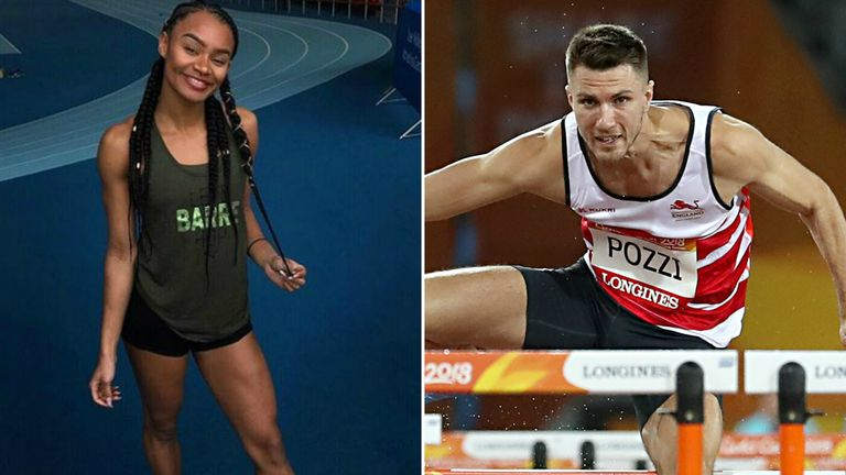 Imani Lansiquot and Andrew Pozzi are gearing up for a busy summer season
