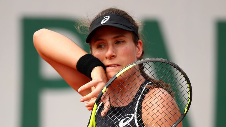 Konta admits to doubts after another early Roland Garros exit