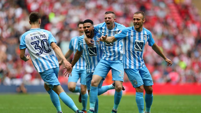 Coventry secured their first promotion in 51 years