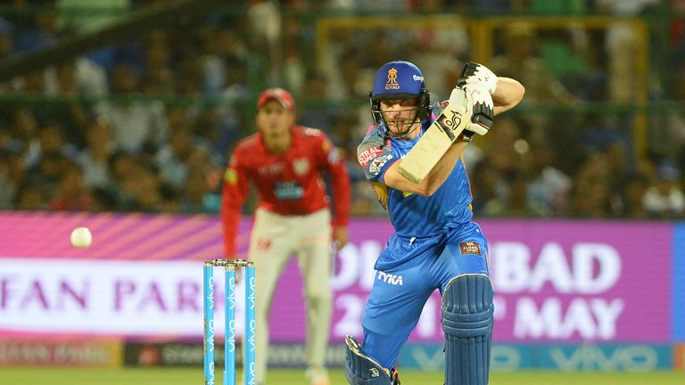 Jos Buttler is targeting a record sixth straight IPL fifty (Credit: AFP)