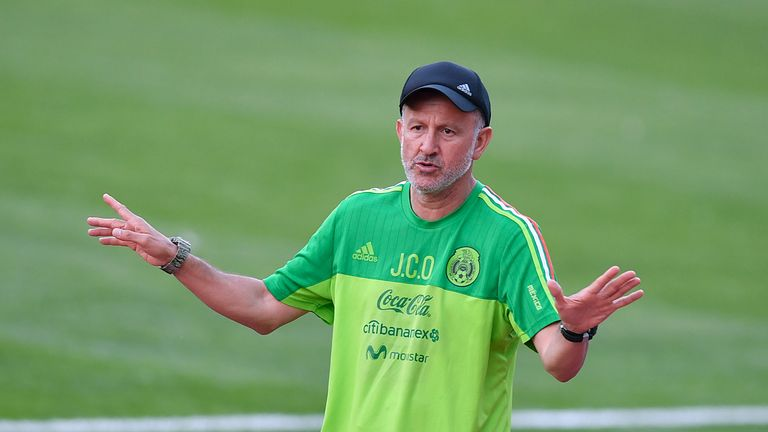 Juan Carlos Osorio admits he planned Mexico's approach after seeing Germany's recent friendlies