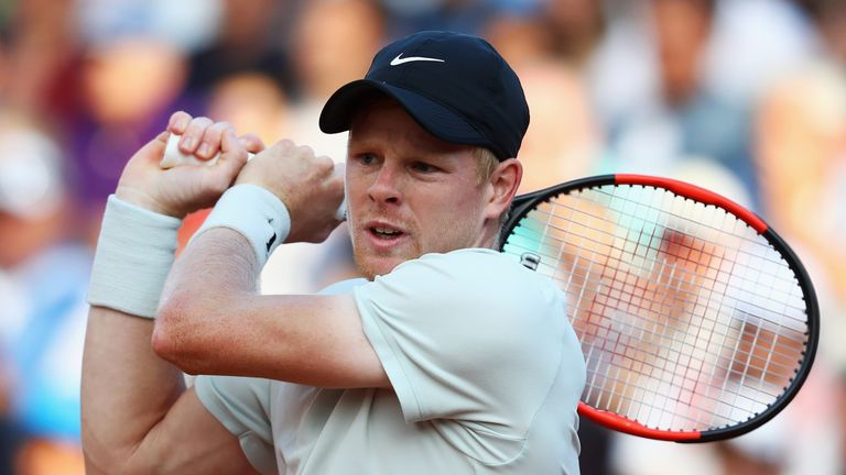 Kyle Edmund will spearhead British hopes in the men's draw with Andy Murray still out
