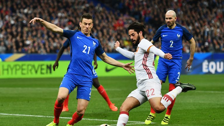 Laurent Koscielny will not be able to represent France at the World Cup in Russia this summer